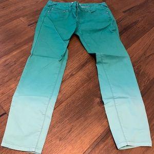 Free people crop jeans 28